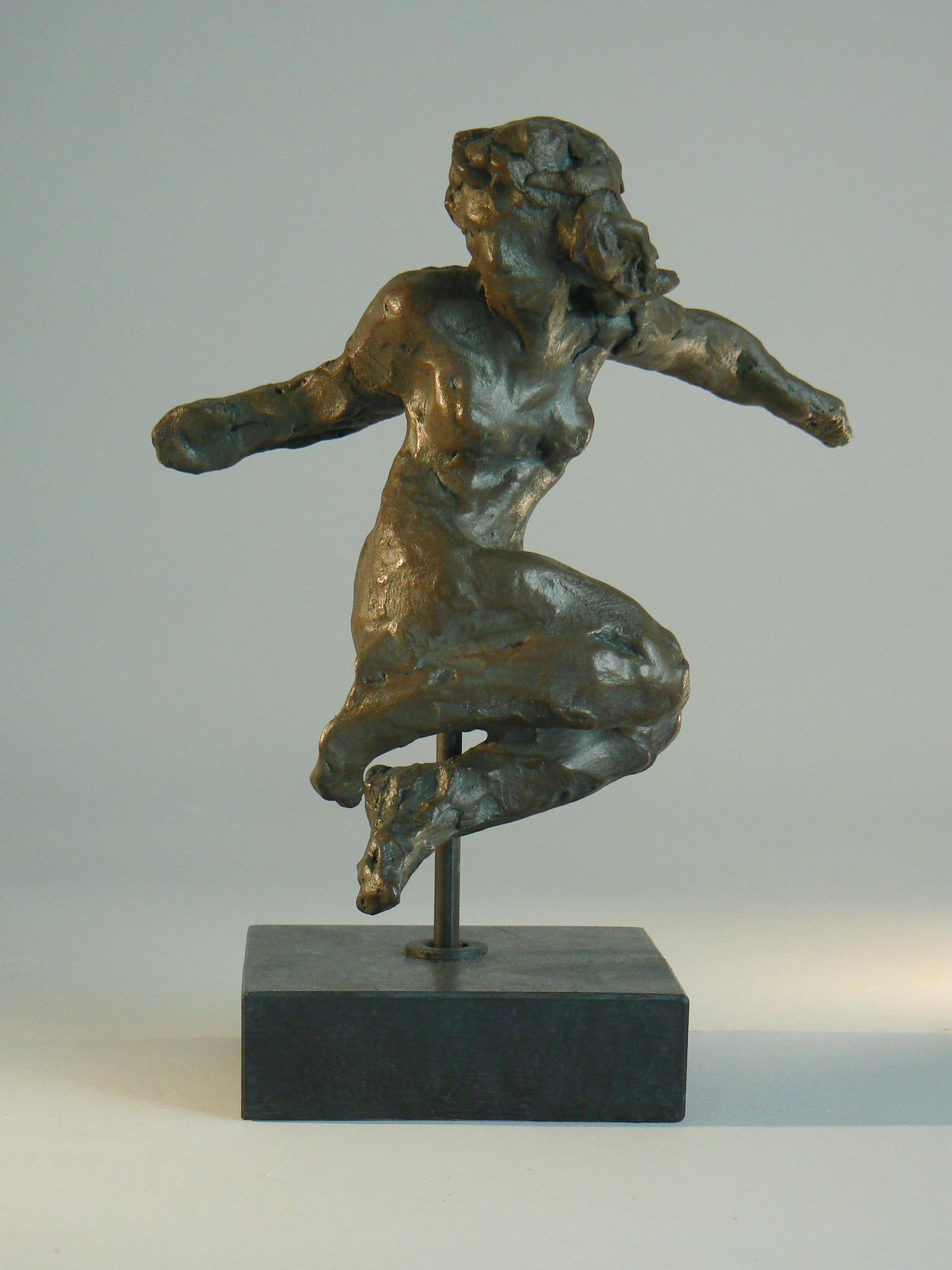 La Muse, plâtre patiné