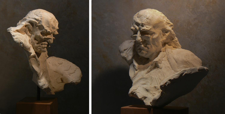 Auguste Jean Gaudin Plâtre original