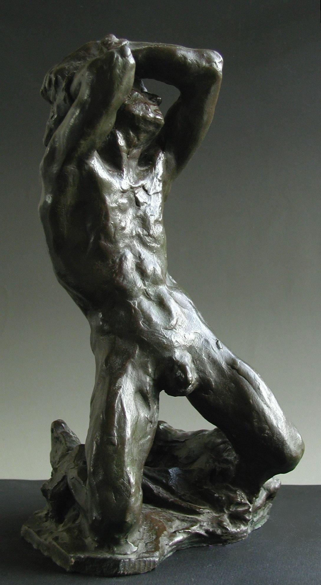 Esclave en bronze