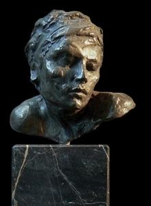 """Visage d' Ellenore"""" / Bronze"""